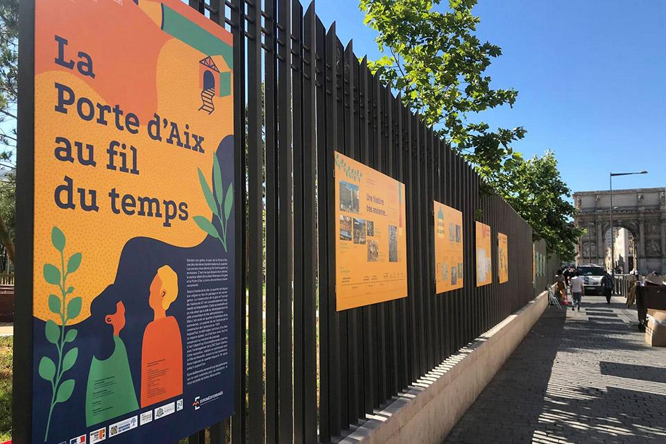 Panneaux Porte Aix MOVE